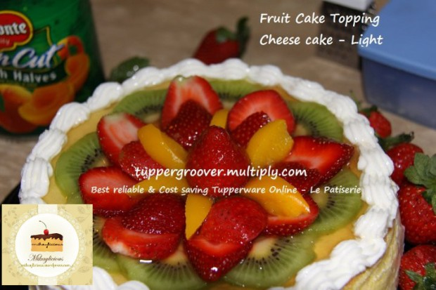 Cheese cake top look